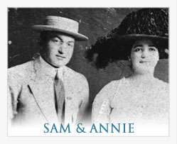 Sam and Annie, the first owners of Mark Adrian Shoes in the Boston-area