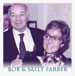 Bob and Sally Farber, owners of Bob's Bootery